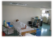 Hospital-setting Practice Room